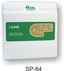 SP-84: 4 ZONE CIRCULATOR PUMP CONTROL (SWITCHING RELAY) WITH SELEC-PRIORITY FOR HYDRONIC RADIANT FLOOR HEATING SYSTEMS