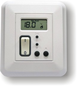 D-26F: NON-PROGRAMMABLE DIGITAL THERMOSTAT FOR RADIANT FLOOR HEATING