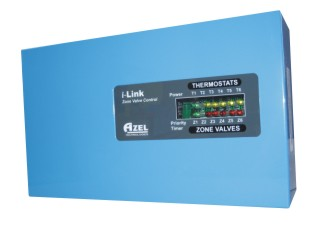 SZ-V4: i-Link 4 Zone Valve Control FOR HYDRONIC RADIANT FLOOR HEATING SYSTEMS