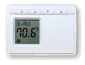 D-28F: NON-PROGRAMMABLE DIGITAL THERMOSTAT FOR HYDRONIC RADIANT FLOOR HEATING (BATTERY OPERATED)