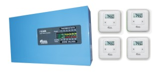 Package Deal: SZ-V4 with 4 units of D-135E Digital Thermostats